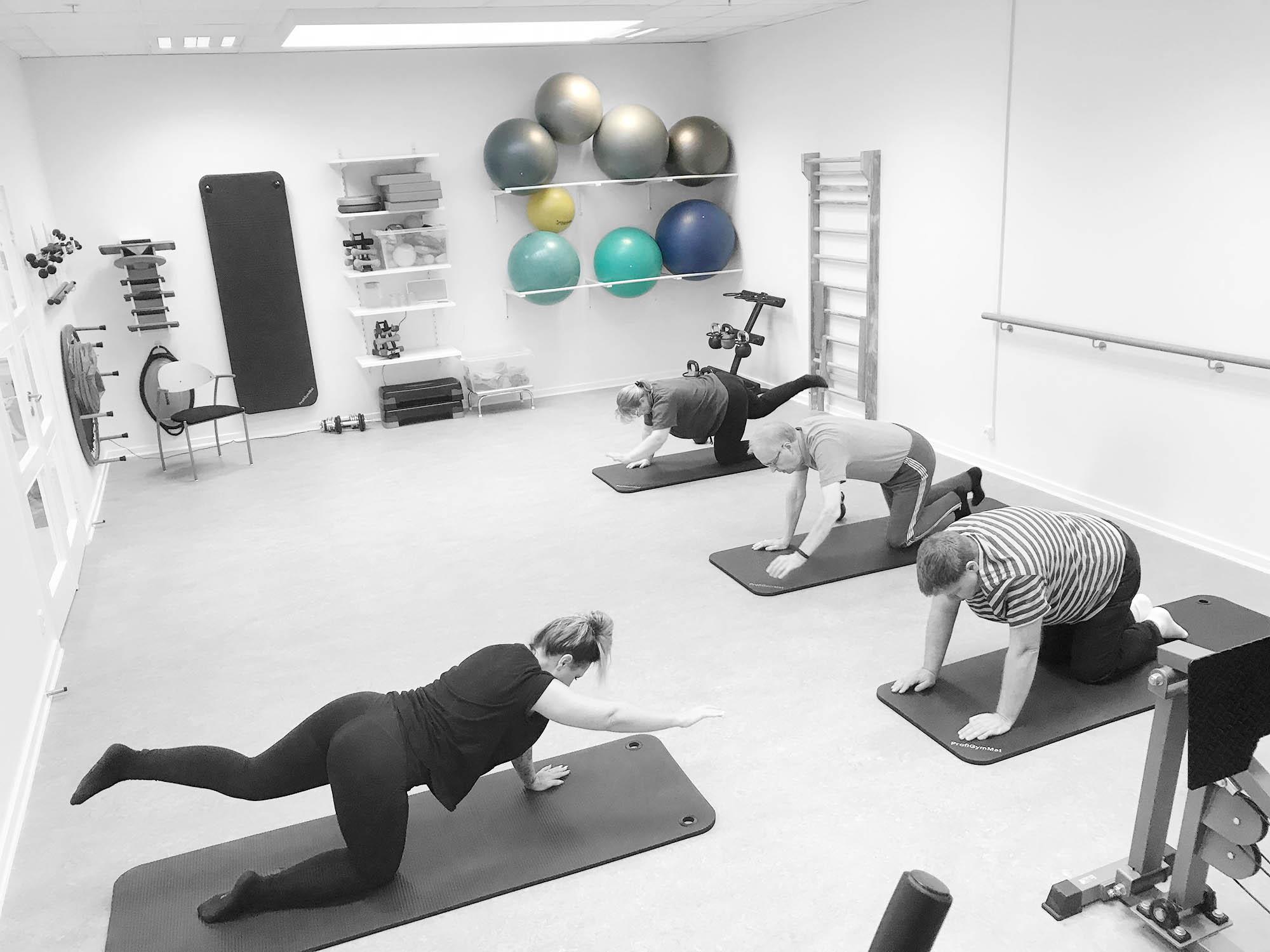 Benløse Fysioterapi Ringsted - Holdtræning